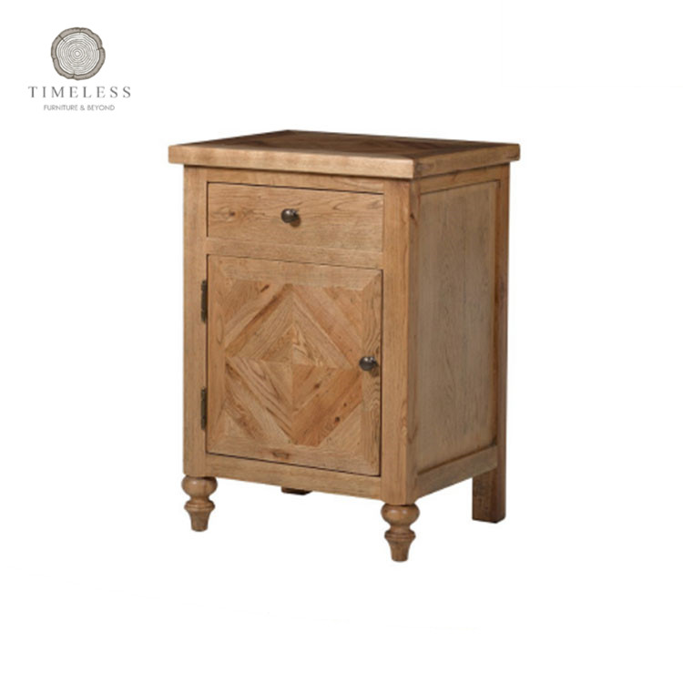 Mrs Woods Antique Wood One Night Stand