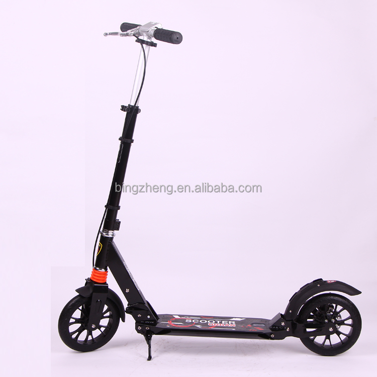 Adult kick scooter with handle disc brake and 200MM big wheel