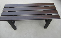 Hot-saled Cast Aluminum Outdoor Patio Bench