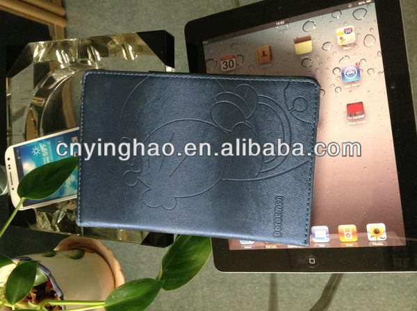 Newest classical for ipad mini leather case color stand