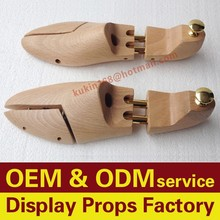 Adjustable beech wood shoe stretchers, Customize wooden shoe trees