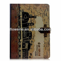 FL3360 2014 Guangzhou high quality retro wallet leather flip case cover for ipad mini 2