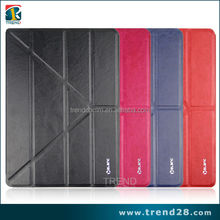 hot sales OEM high quality samrt leather case for ipad 5 air