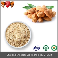 High quality organic almond nuts extract powder