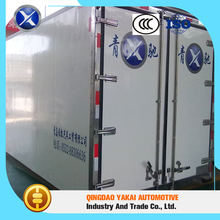 Strong corrosion resistance pass CCC frp ckd insulated freezer truck body box for sale