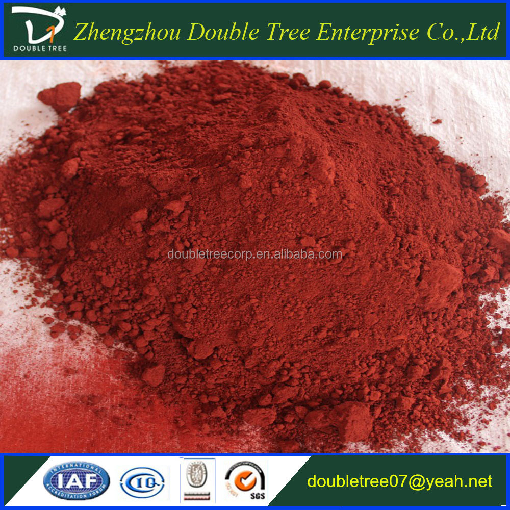 Best price iron oxide pigment for rubber tiles/paver/sports floor