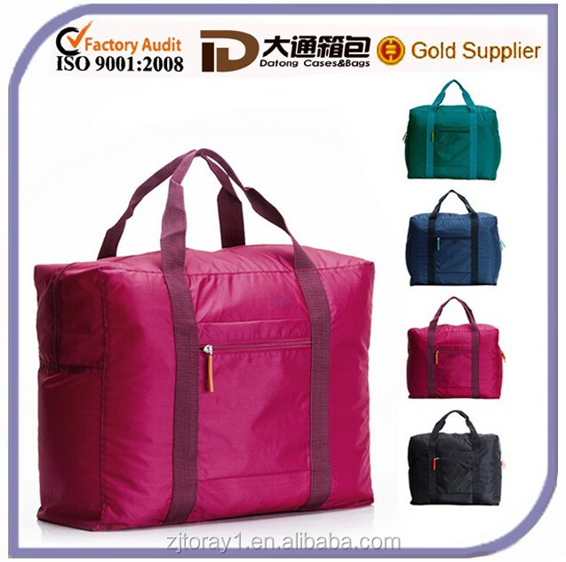 One Day folding Trendy Travel Bag for Teenagers