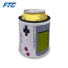 80's Video Game Slap Wrap Beer Can Insulated Cooler Sleeve Covers