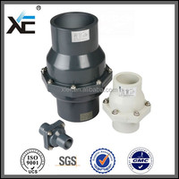 """XE"" 1 2 pvc check valve pvc for agriculture"