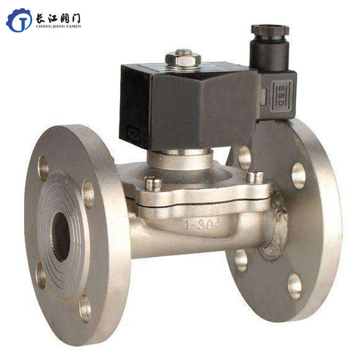 Cleaned air electric high temperature solenoid valve butterfly