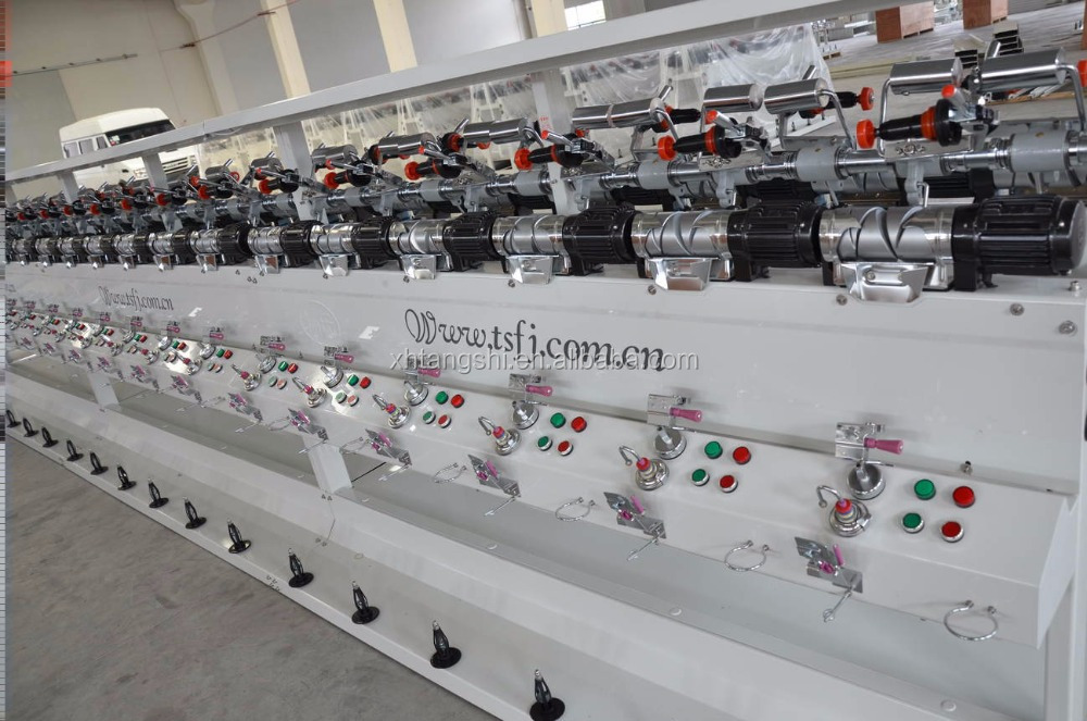 The knitting industry use hard/tight cotton yarn winding machine manufacturer