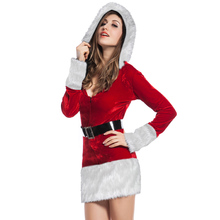 Hot santa claus fat women sexy christmas costume