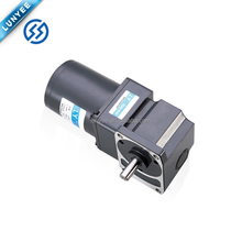 25W ac reversible geared motor right angle