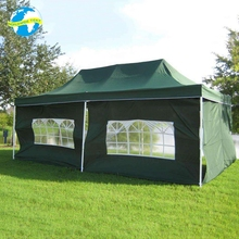 China pop up 10x20 event textile canopy black ,gazebos 6x3 outdoor