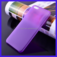 Ultra thin 0.3mm colored pp matte cover for iphone6 case