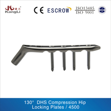 orthopedics trauma implant: DHS compression hip locking plates