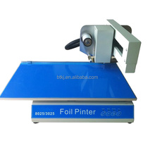frosty plastic card / post cards gold foil roll printer In Henan Province