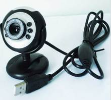 Night Vision LED Lights PC USB Webcam Camera For Desktop Or Laptop