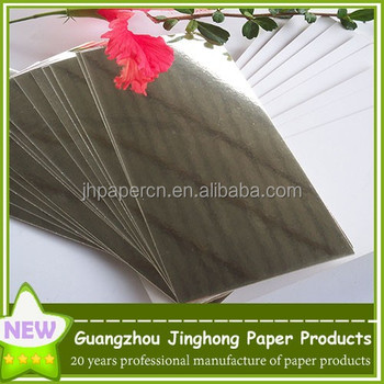 Aluminum film laminated food board