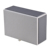 Custom logo elegant faux leather wooden tissue box for home/hotel/office supplies