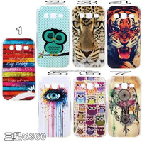 for rainrow owl cartoon printing imd silicone soft phone case for samsung g360f