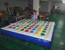 classic design inflatable twister games