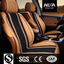 Wellfit Sponge cold silk with Leather Car Seat Cover Car seat cushion for Hyundai Sonata/Toyota ect.family five seat car
