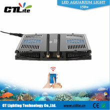 China manufacturer coral reef used wifi aquarium led 165w for fish tank