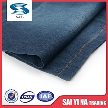 100 cotton woven yarn dyed denim jeans fabric chambray manufactures
