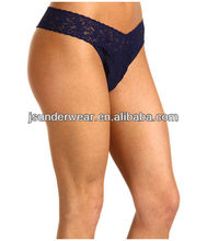 Hot Popular Style Lady Lace Panty, Low Rise Thongs