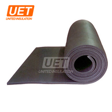 High quality rubber insulation 25mm thickness rubber insulation foam sheet price/ adhesive foam sheets