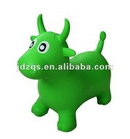 PVC jumping animal toys - cow