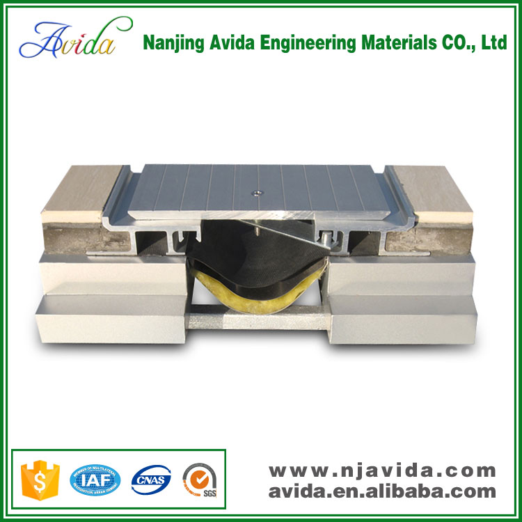Aluminum Alloy Car Parking Expansion Joint Covers for Buildings