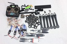 F08618-B HMF S550 F550 Upgrade Hexacopter 6-Axle Frame Kit with Landing Gear +ESC+Motor+QQ SUPER Control Board+RX&TX+Propellers