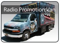 Radio Station and Broadcasting Promotion Van