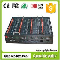 Factory price gsm sms modem 64 sim card slots support bulk sms broadcast,imei number change
