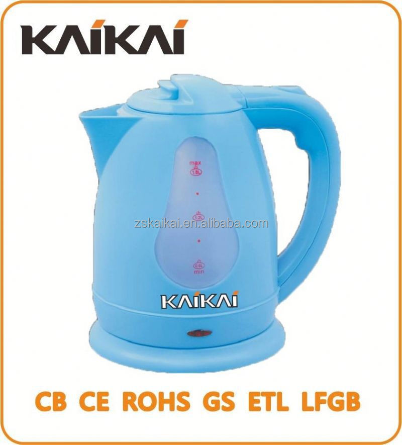 Factory price 1.8L induction plastic tea kettle