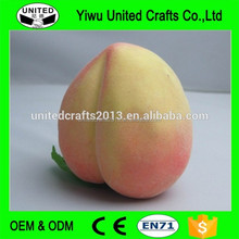 Decorative artificial foam fruit for food display