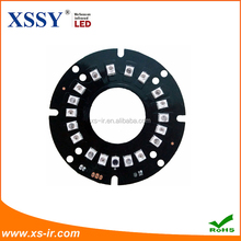 Shenzhen XSSY factory direct sales of red and external light bulb LED new laminates light sensitive 18 lights super night vision