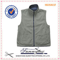 Sunnytex Customised LOGO Printing Embroidery high quality Mens Winter Vest