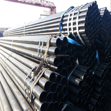 Black ERW Pipes low carbon steel tube supplier no coating non galvanized no PE