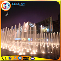 LED Jet Light Submersible Water Pump Plazza Floor Water Fountain