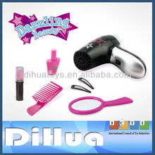 Girls Beauty Salon Play Set Hairdryer Mirror Styling Toys Hair Dresser Tools NEW