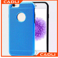 Top sell phone case for iphone 6s PC with colling function multicolor cell phone cover