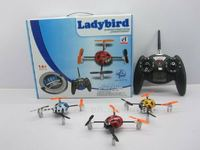 2.4G four-way mini beetle LCD display r/c helicopter