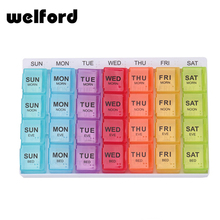 Wholesale weekly 4 times daily 7 day 28 cases separable pill box