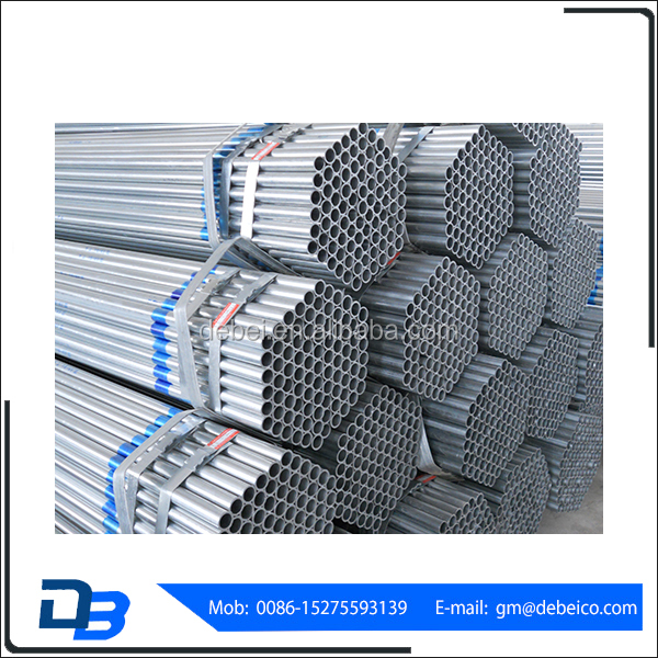 Wholesale China Import BSI Certification Round Galvanized Pipe For Building Materials