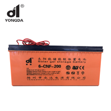 Deep Cycle GEL Battery 12V 200Ah for Solar System Power Storage Battery