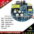 china manufacturer soluxled CE PF0.95 2 years warranty 40W dc led power supply