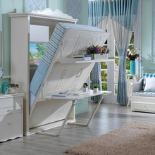 2018 hot-sale smart <strong>furniture</strong> of wall hidden bed